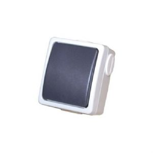 WEATHERPROOF WATERPROOF OUTDOOR GARDEN SINGLE SWITCH IP44